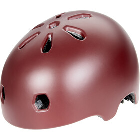 TSG Meta Solid Color Helmet satin oxblood